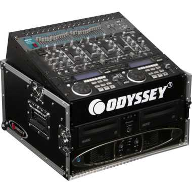 Odyssey Flight Ready® Mixer Combo Rack 10U x 4U - FR1004