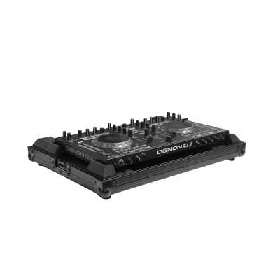 Odyssey FRDNMC4000BL - Denon DJ MC4000 All Black Low Profile Flight Case