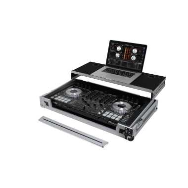 Odyssey FRGSPIDDJRX Flight Case For Pioneer DDJ-RX / DDJ-SX / DDJ-SX2 With Gliding Platform
