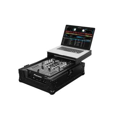 "Odyssey FZGS10MX1BL - 10"" Mixer All Black Low Profile Gliding Platform Case"