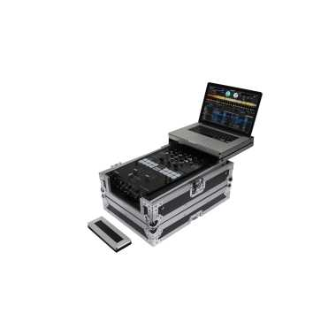"Odyssey FZGS10MX1XD - Universal 10"" Format DJ Mixer Case With Extra Deep Rear Cable Space"