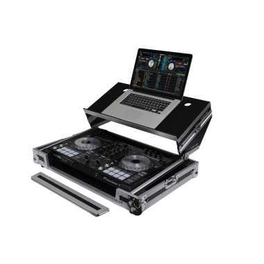 Odyssey FZGSADDJSR2 - Pioneer DDJ-RR/SR/SR2 DJ Controller Case With 'Angled' Glide Platform
