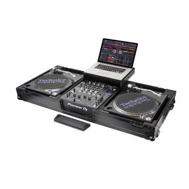 Odyssey FZGSLBM12WRBL - Universal Turntable DJ Coffin With Wheels