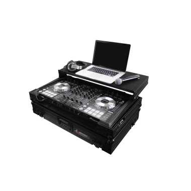 Odyssey Flight Zone® Black Label™ Gliding Case for Pioneer DDJ-SX2, DDJ-SX & DDJ-RX - FZGSPIDDJSXBL