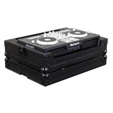Odyssey FZMIXDECKEXBL All Black Flight Case for Numark Mixdeck Express