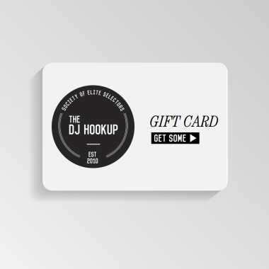The DJ HOOKUP Gift Card