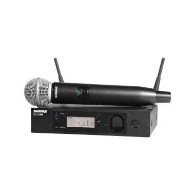 Shure GLXD24R/SM58 - Handheld Wireless System