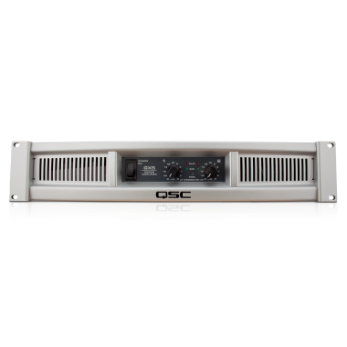 QSC GX5 - 500W Per Channel At 8 Ohms Power Rackmount Amplifier