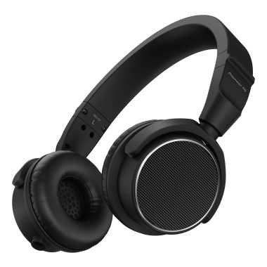 Pioneer HDJ-S7-K - Professional On-ear DJ Headphones (Black)