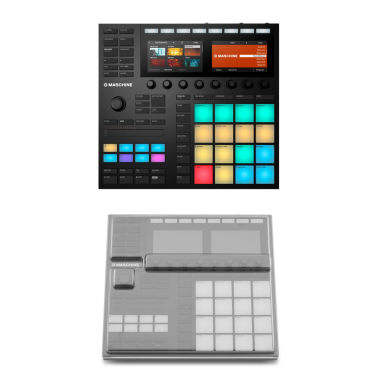 NI Maschine MK3 + Decksaver DS-PC-MASCHINEMK3 Cover Bundle