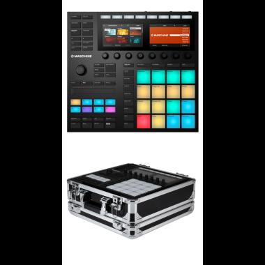 Native Instruments Maschine MK3 + Odyssey KMASCHINEMK3BLK Case Bundle