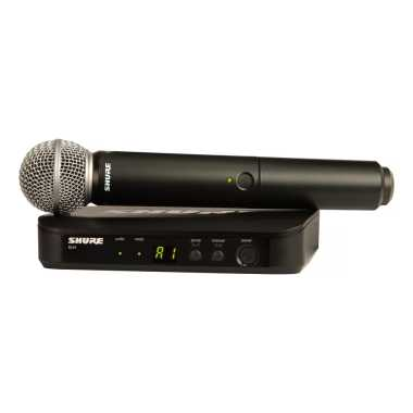 Shure BLX24/SM58-H9 - Handheld Wireless System - $50 Temporary Price Drop