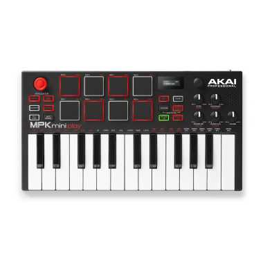 Akai MPK Mini Play - Mini Keyboard with Built-in Speakers and USB Pad Controller