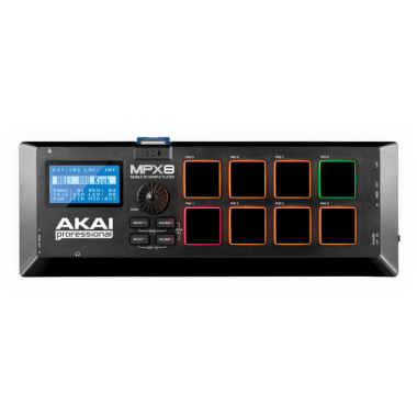 Akai MPX8 - Mobile SD Sample Player