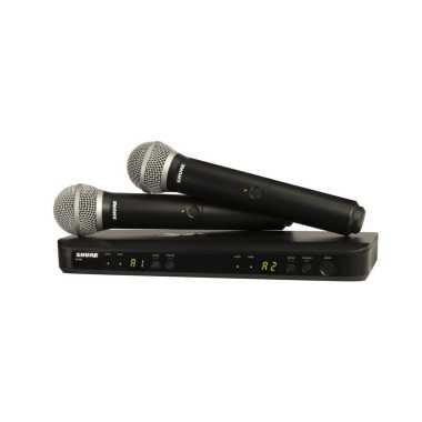 Shure BLX288/PG58-H9 - Dual Channel Handheld Wireless System