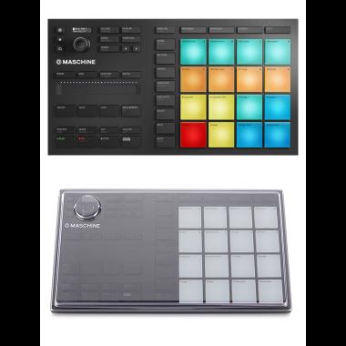 Native Instruments Maschine Mikro MK3 + Decksaver DS-PC-MIKROMK3 Cover Bundle