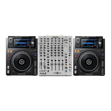 Pioneer DJ XDJ-1000MK2 + Allen & Heath XONE:96 Bundle