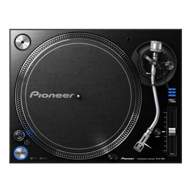 Pioneer PLX-1000 - Professional Turntable (Black)