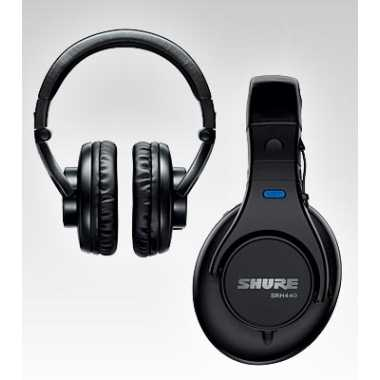 Shure SRH440 - Professional Studio Headphones