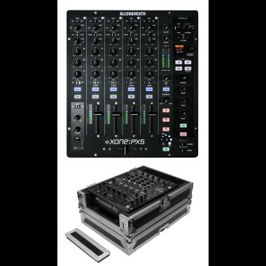 Allen & Heath Xone:PX5 + Odyssey FZ12MIXXD Case Bundle Deal