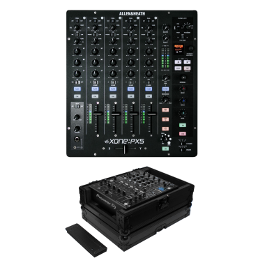 Allen & Heath Xone:PX5 + Odyssey FZ12MIXXDBL Case Bundle Deal