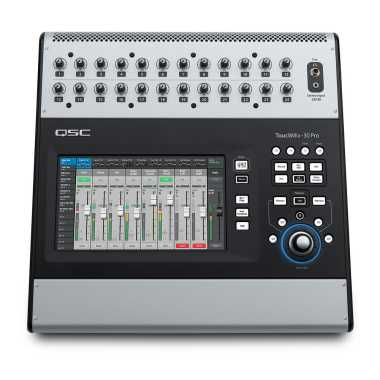 QSC TouchMix-30 Pro - 32-Channel Professional Digital Mixer - $200 Mail-in Rebate!