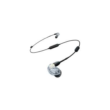 Shure SE215-CL-BT1 - Sound Isolating Bluetooth Wireless Earphones (Clear)