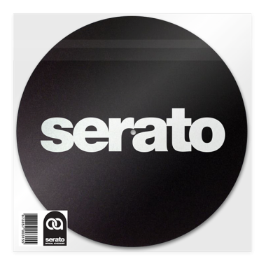 Serato Slipmats (Pair, Black)
