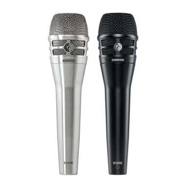 Shure KSM8 Dualdyne™ Vocal Microphone (Multiple Colors Available)