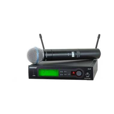 Shure SLX24/BETA58 - Handheld Wireless System