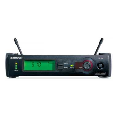 Shure SLX4=-G5 - Diversity Receiver, Operates in the G5 Frequency Band