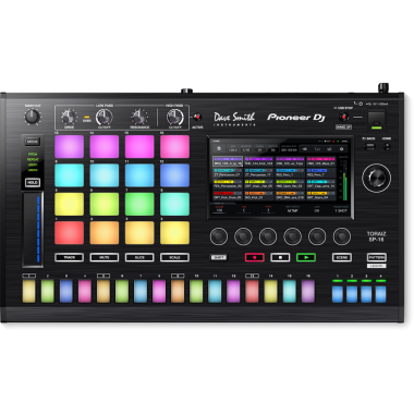 Pioneer TORAIZ SP-16 Professional Sampler - $200 Instant Rebate + Free 1 Month Access to Splice Sounds Sample Library!