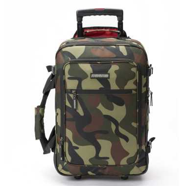Magma MGA47886 - Digi Carry-On Trolley Camo-Green/Red