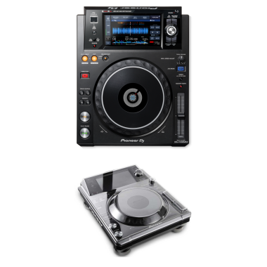 Pioneer DJ XDJ-1000MK2 + Decksaver DS-PC-XDJ1000 Cover Bundle