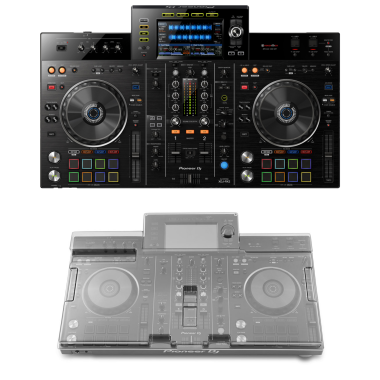 Pioneer DJ XDJ-RX2 + Decksaver DS-PC-XDJRX2 Cover Bundle