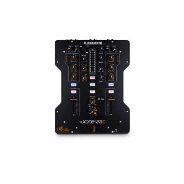 Allen & Heath Xone:23C - High Performance DJ Mixer and Soundcard