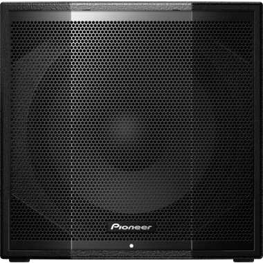 "Pioneer XPRS 115S - 15"" Reflex Loaded Active Subwoofer"
