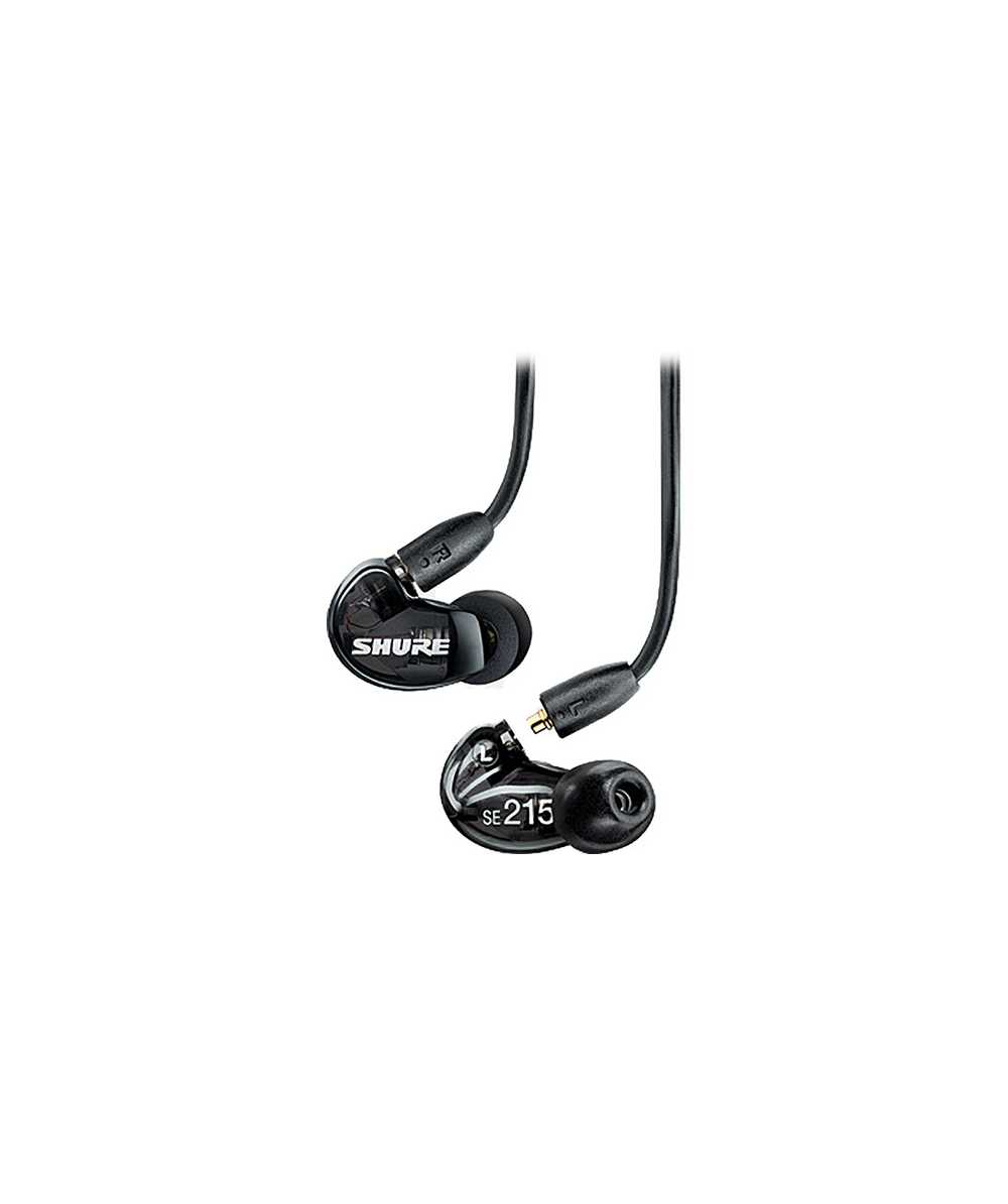 7076c088281 Shure SE215 - Sound Isolating Earphones (Translucent Black) @ The DJ Hookup