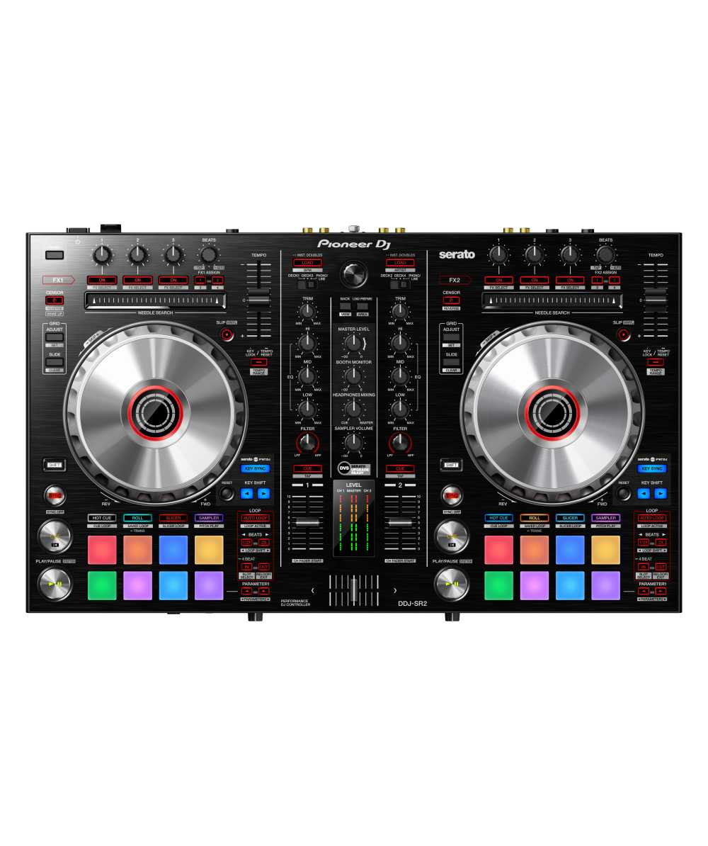 pioneer 4 channel controller. pioneer ddj-sr2 - portable 2-channel controller for serato dj @ the hookup 4 channel a