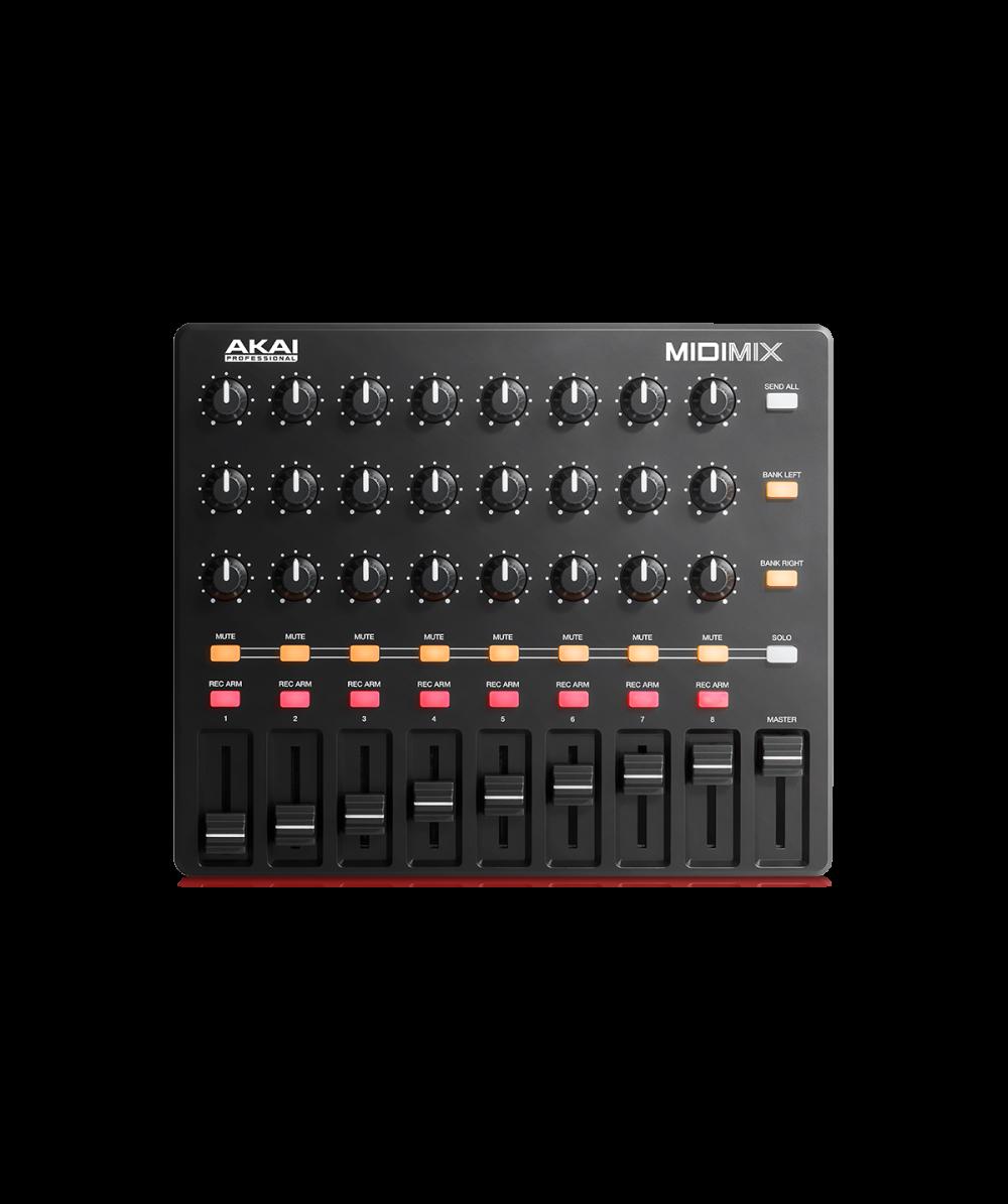 akai midimix high performance portable mixer daw controller the dj hookup. Black Bedroom Furniture Sets. Home Design Ideas