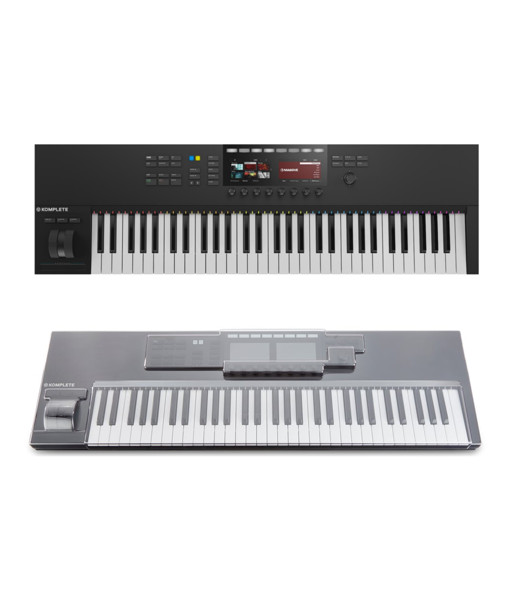 NI Komplete Kontrol S61 MK2 + DS-PC-KONTROLS61MK2 Cover Bundle @ The
