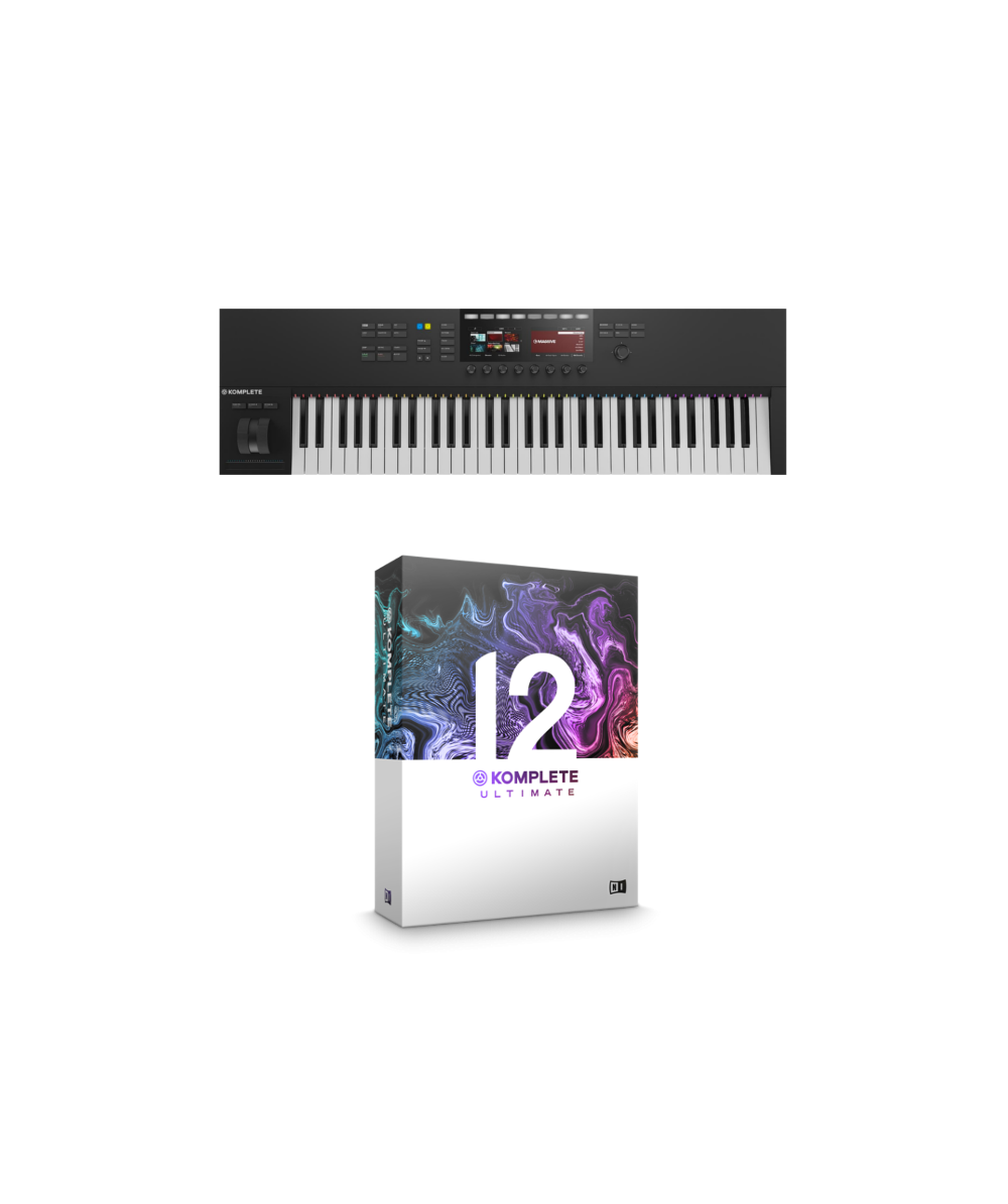 e2a8d54ac7a NI Komplete Kontrol S61 MK2 + Komplete 12 Ultimate Bundle @ The DJ Hookup