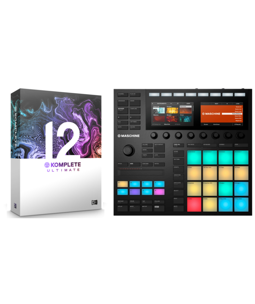 Native Instruments Maschine MK3 + NI Komplete 12 Ultimate