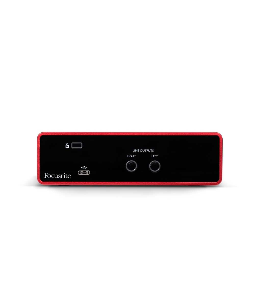 Focusrite Scarlett Solo Studio (3rd Gen) - 2 - In, 2 - Out USB Audio  Interface With a Condenser Mic and Headphones