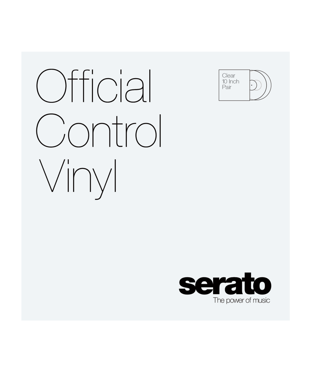 serato control vinyl white