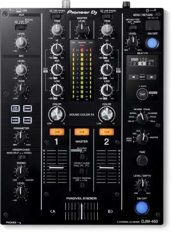 Pioneer DJM-450 Two-channel DJ Mixer