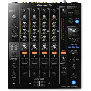 Pioneer DJM-750MK2 - Professional 4-Channel Mixer