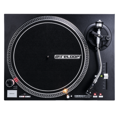 Reloop RP-4000 MK2 - Quartz-Driven DJ Turntable With High-Torque Direct Drive