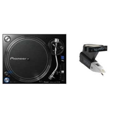 Pioneer DJ PLX-1000 + Ortofon OM Q.Bert Cartridge Bundle