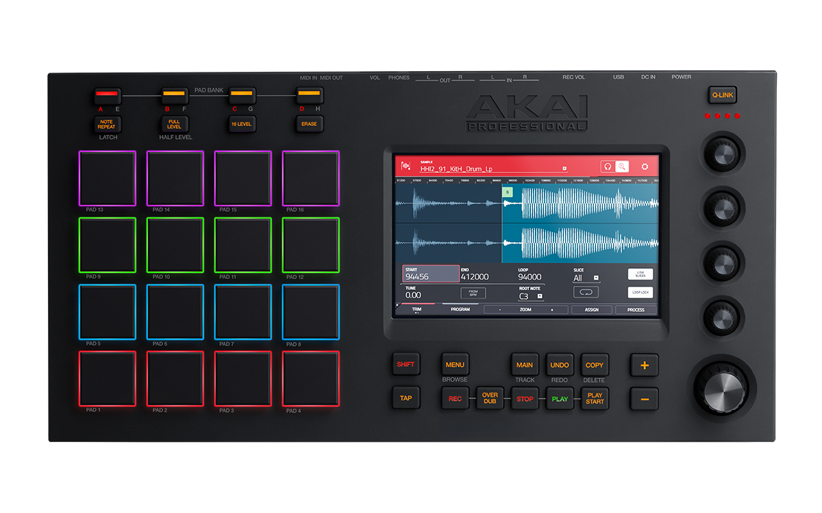 Details about Akai MPC Touch - Multi-Touch Music Production Center